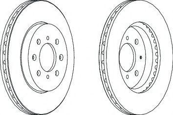 Тормозной диск Ferodo  арт. DDF1610