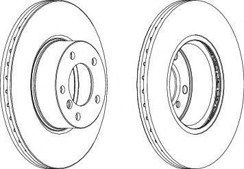 Тормозной диск Ferodo  арт. DDF1717