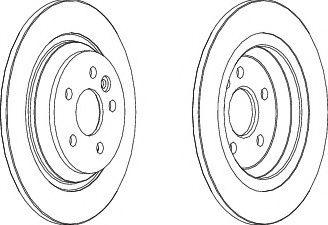 Тормозной диск FERODO DDF1720