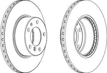 Тормозной диск Ferodo  арт. DDF211