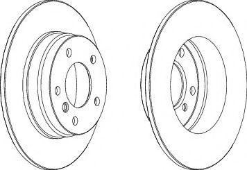 Тормозной диск Ferodo  арт. DDF249