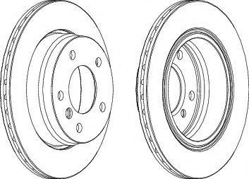 Тормозной диск  арт. DDF831