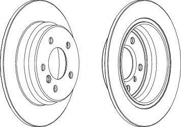 Тормозной диск Ferodo  арт. DDF835