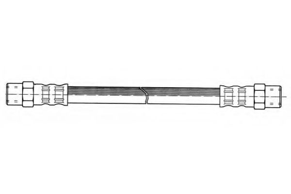 Brake hose ferodo FHY2054