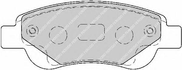 Тормозные колодки Ferodo  арт. FSL1790