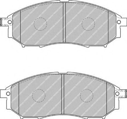 Тормозные колодки Ferodo  арт. FSL1881