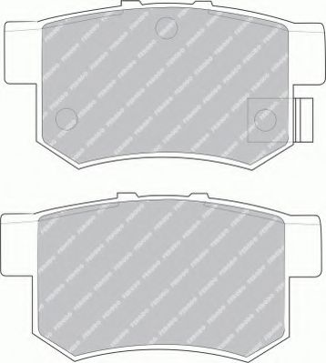 Тормозные колодки Ferodo  арт. FSL956