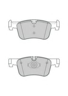 Тормозные колодки Ferodo  арт. FDB4489
