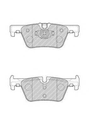 Колодки гальмівні дискові  арт. FDB4670