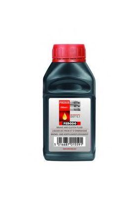 Тормозная жидкость Тормозная жидкость Synthetic DOT5.1 0,25L 1ящ.=24шт.  арт. FBZ025
