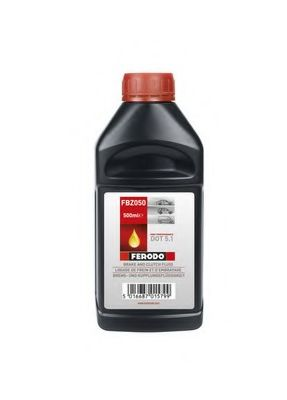 Тормозная жидкость 0.5л (DOT 5.1) Ferodo FERODO FBZ050
