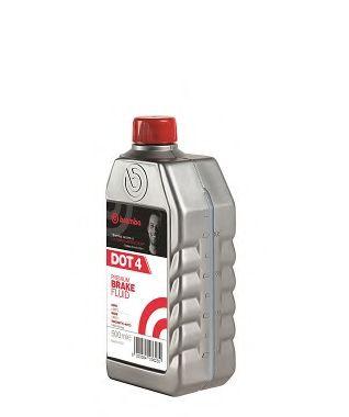 Тормозные жидкости Тормозная жидкость Brembo DOT 4 (0,5л.)  арт. L04005
