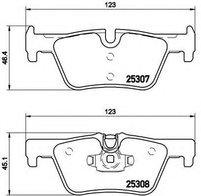 Тормозные колодки Brembo  арт. P06071