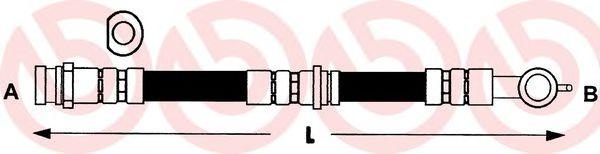 Тормозной шланг  арт. T34001