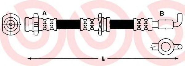 Тормозной шланг  арт. T59010