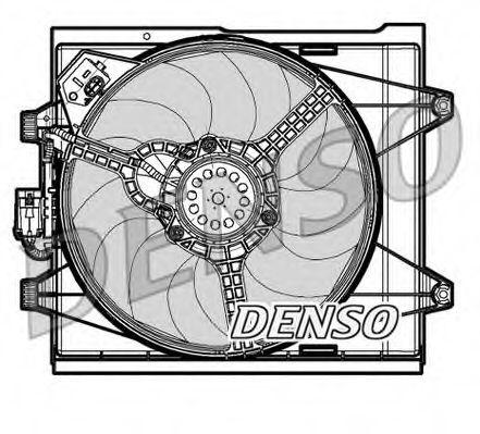 Вентилятор радіатора DENSO DER09048