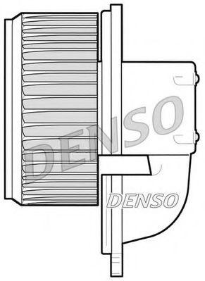 Вентилятор салону DENSO DEA09022