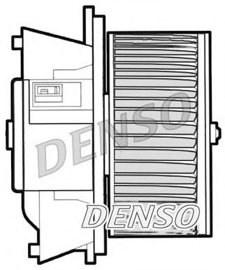 Вентилятор салону DENSO DEA09042