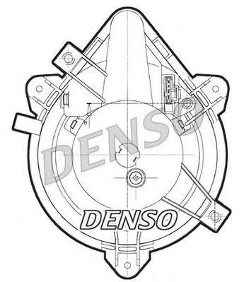 Вентилятор отопителя DENSO DEA09044