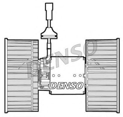 Моторчик вентилятора салону DENSO DEA12002
