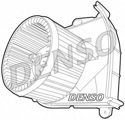 Вентилятор салону DENSO DEA21006