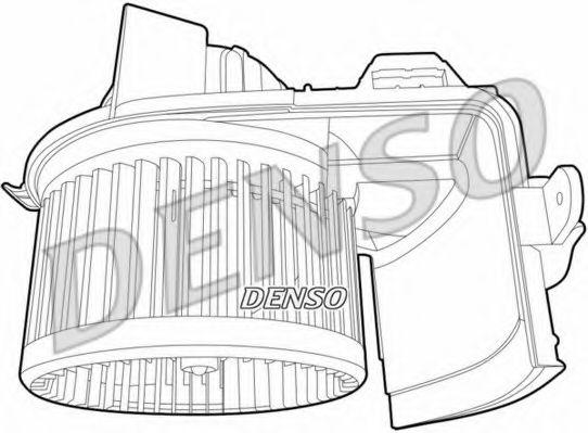 Вентилятор салону DENSO DEA23004