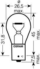Автолампа Osram (12V 21W)  арт. 7507ULT02B