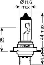 Автолампа Osram (55W 12V PX26)  арт. 64210ULT