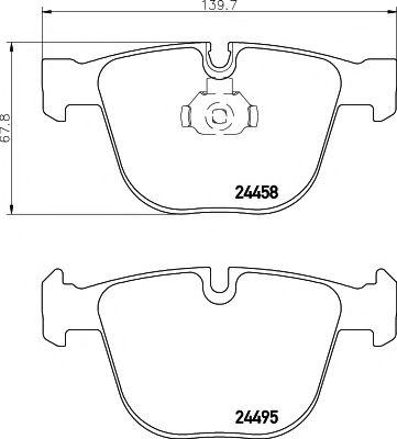 MINTEX  тормозные колодки MINTEX MDB2879