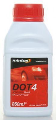MINTEX Тормозная жидкость DOT4 0.25л MINTEX MBF40250B