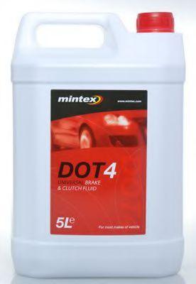 MINTEX  Тормозная жидкость DOT4 5л MINTEX MBF45000B