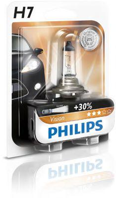 Лампа накаливания H7Premium12V 55W PX26d (пр-во Philips)                                              арт. 12972PRB1