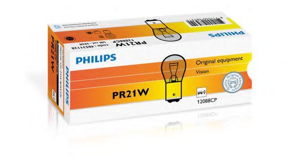 Лампа накаливания PR21W 12V 21W BAW15s (пр-во Philips)                                                арт. 12088CP