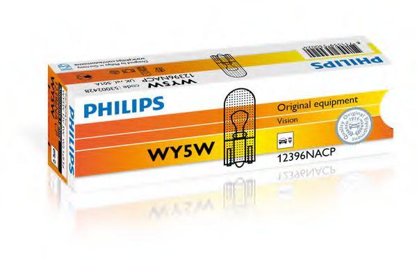 Лампа накалу WY5W 12V 5W W 2,1X9,5d  арт. 12396NACP