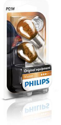 Лампа накаливания PY21W 12V 21W BAU15s 2шт blister (пр-во Philips)                                    арт. 12496NAB2