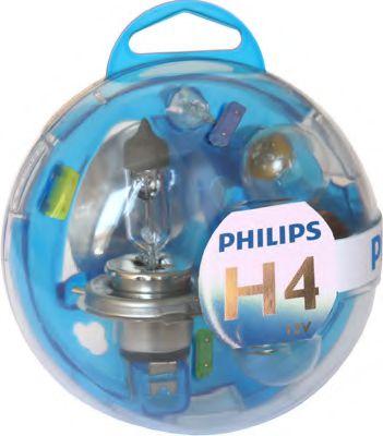 Комплект автоламп PHILIPS H4