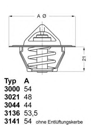 Термостат Ford  арт. 302188D50