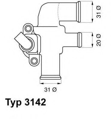 Термостат SMART (пр-во Wahler)                                                                       WAHLER 314290D