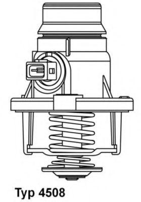 WAHLER BMW Термостат E60 WAHLER 4508105D