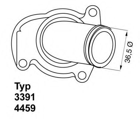 WA3391.92D Термостат WAHLER 445992D