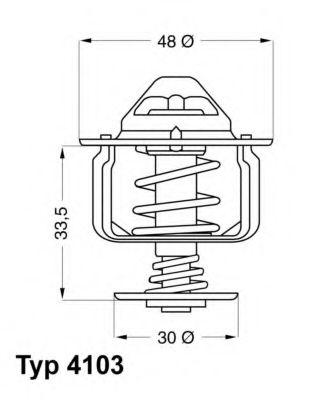Термостат  арт. 410382D