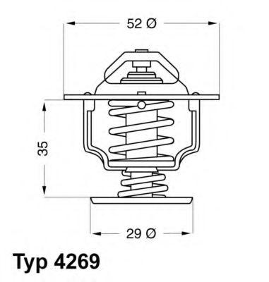 Термостат  арт. 426978D