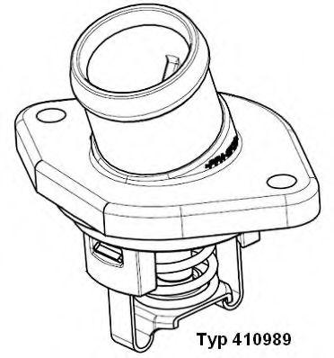 Термостат AUDI; SEAT; SKODA; VW (пр-во Wahler)                                                       WAHLER арт. 41098987D