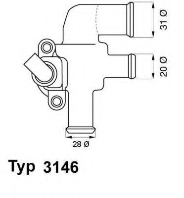 Термостат SMART (пр-во Wahler)                                                                       WAHLER 314690D