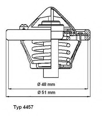 Термостат Ford  арт. 445782D