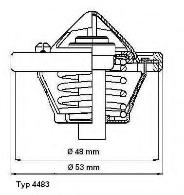Термостат  арт. 448382D