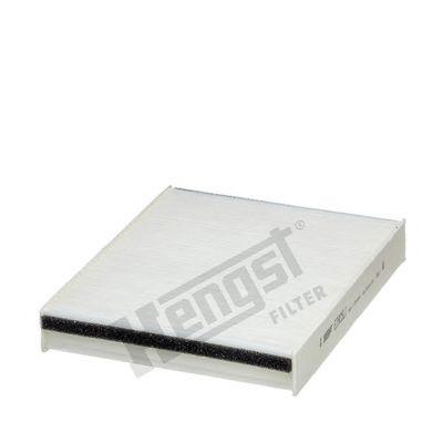 Фильтр салона FORD FOCUS III, C-MAX II, KUGA II 10- (пр-во HENGST)                                   HENGSTFILTER E3905LI