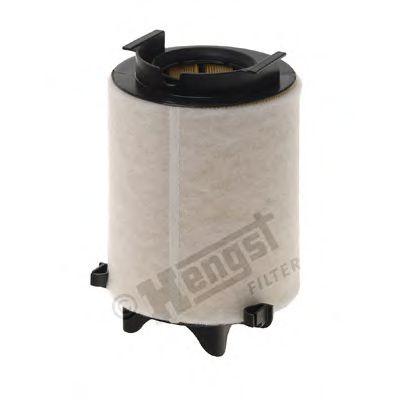 Фильтр воздушный AUDI, SEAT, SKODA, VW (пр-во Hengst)                                                KNECHT арт. E482L01