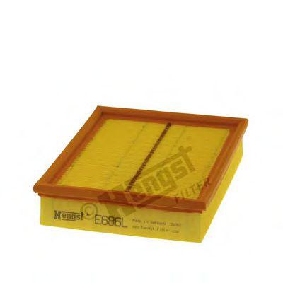 Воздушный фильтр  арт. E686L