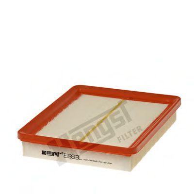 Воздушный фильтр  арт. E883L